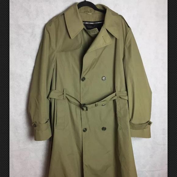 Marine Corps All Weather Coat Men S 42 Long